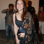 Nauheed Cyrusi suffered shocking wardrobe malfunction