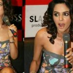 Mallika Sherawat Suffered Wardrobe Malfunction Again