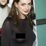 Hollywood Actress Anne Hathaway had another encounter with dress wardrobe malfunction