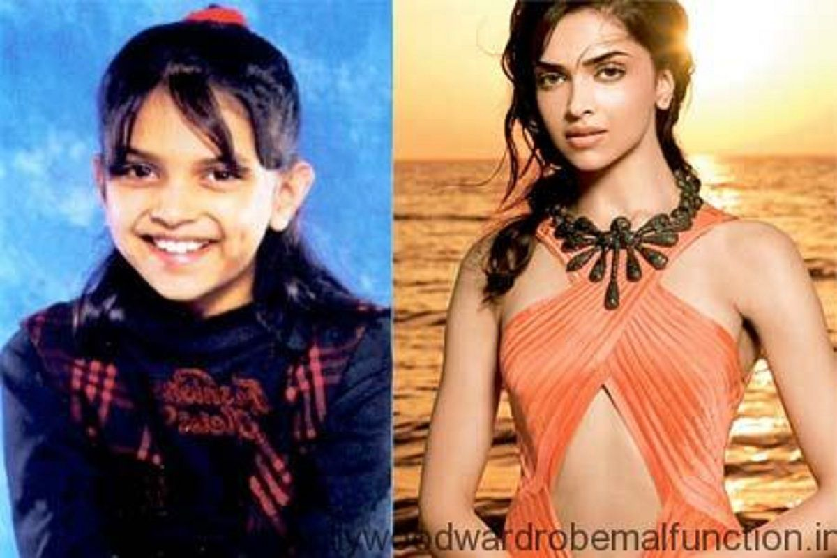 Deepika Padukone Childhood Picture