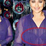 Sonakshi Sinha Wardrobe Malfunction Photos