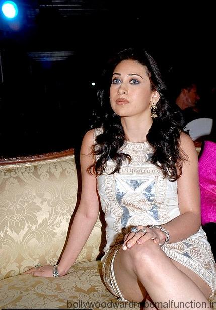Karishma Kapoor Sexy thighs and cleavage Show