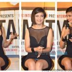 Akshara Haasan suffers wardrobe malfunction