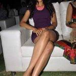 Rakul Preet Singh Thunder thighs huge boobs show