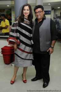 Simone Singh and Farhad Samar