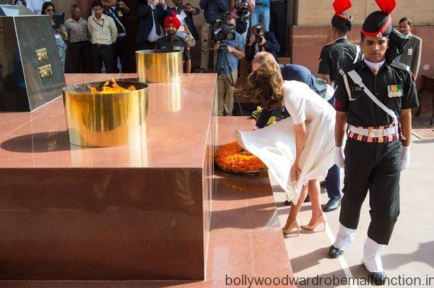 Princess Kate Middleton Has a Marilyn Monroe Moment on Indian Trip