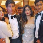 Alaviaa Jaffrey with Jhanvi Kapoor on her birthday