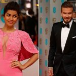 Nimrat Kaur Wardrobe Malfunction When David Beckham Tripped On Her Dress
