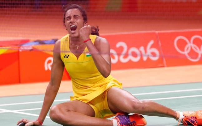 P. V. Sindhu Oops Moments on Badminton Court