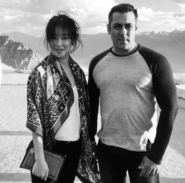 9 Photos Of Chinese Actress Zhu Zhu Who Is Making Her Debut Opposite Salman Khan in Tubelight