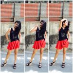 Avneet Kaur in Micro Mini Skirt Looking Hot