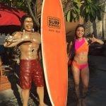 VJ Bani in Bikini enjoying holidays in bali