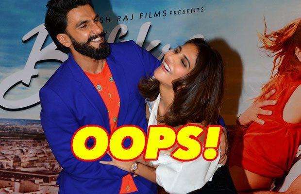 Oops! Befikre actress Vaani Kapoor suffered wardrobe malfunction