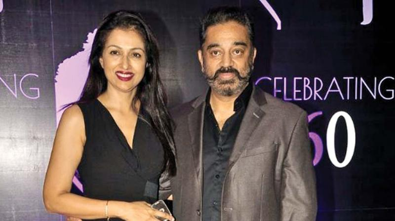 Gautami part ways after living together for 13 years with Kamal Hassan