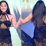 Oops! Regina Cassandra faces wardrobe malfunction during 'Aankhen 2' launch