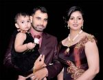 Mohammed Shami with Wife