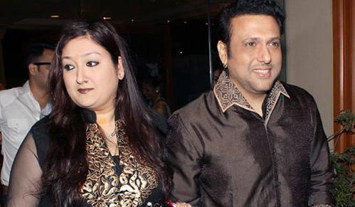 Govinda with wife Sunita Ahuja