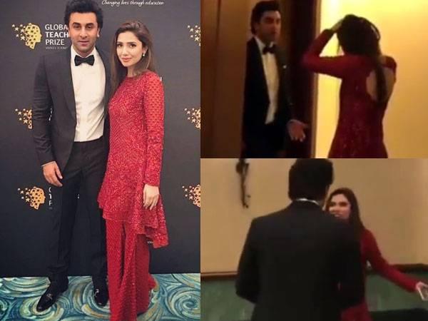 Video of Mahira Khan pleading to Ranbir Kapoor gone viral