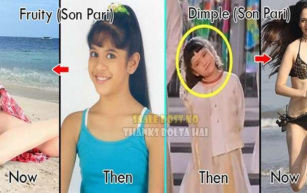 bollywood child artists Then And Now