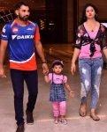 Mohammed Shami with family