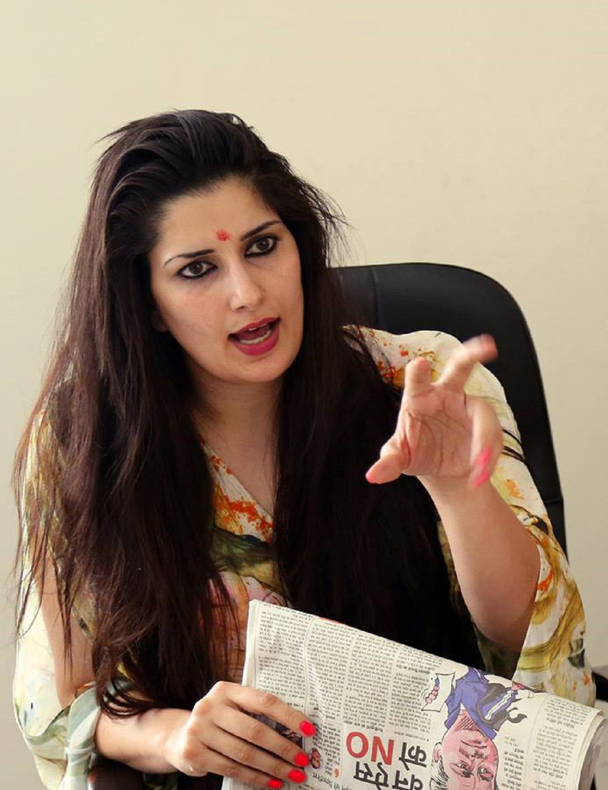 Sonika Kaliraman Biography