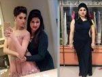 Meera Rautela with Urvashi Rautela