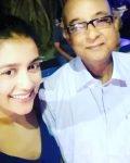 Mishti Chakravarty with father