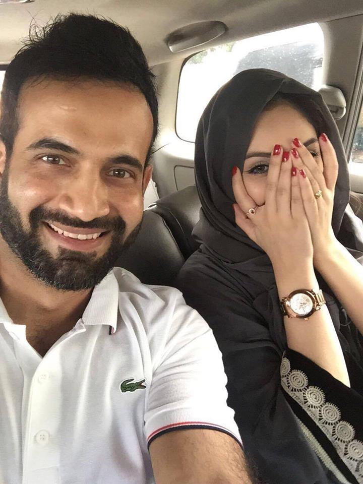 Irfan Pathan trolled for sharing picture with wife on facebook