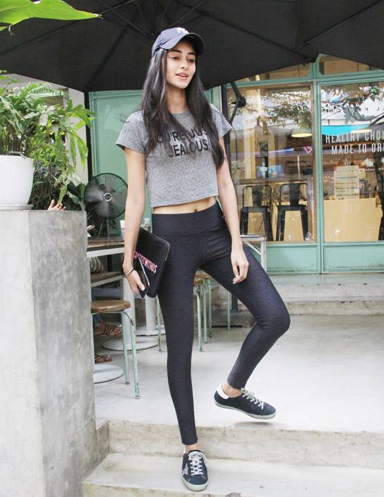 Ananya Panday seen in casual look