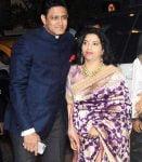 Anil Kumble and Chetana Kumble