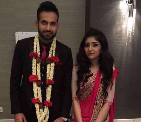 Irfan Pathan and Safa Baig Wedding Picture