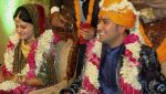 Mahendra Singh Dhoni and Sakshi Singh Dhoni Marriage Picture