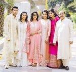Natasha Jain with her family