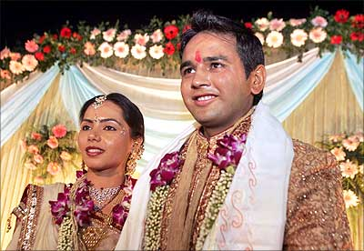 Parthiv Patel and Avni Patel Wedding Picture