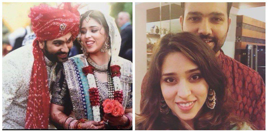 Rohit Sharma And Ritika Sajdeh Wedding picture