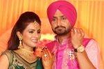 Harbhajan Singh and Geeta Basra Marriage Picture