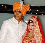 Tanya Wadhwa and Umesh Yadav Wedding Picture