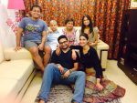Aahana Kumra with Family