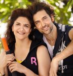 Hrithik with mother