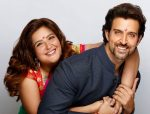 Hrithik with sister