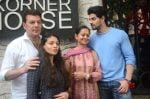 Aditya Pancholi with family