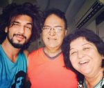 manish raisinghan with parents