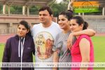 sonika kaliraman with family