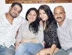 Anushka-with-her-bro-Karnesh-Sharma-mom-Ashima-Sharma-dad-Ajay-Sharma