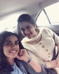 PV Sindhu with sister