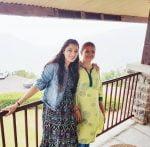 Richa-Panai-with-mother