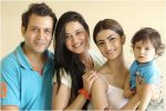 Shweta tiwari with family