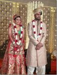 devanshi-popat-and-rp-singh-marriage-photo