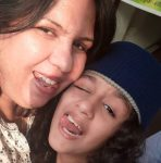 Syna Anand with Mother
