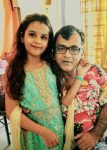 Syna Anand with Father